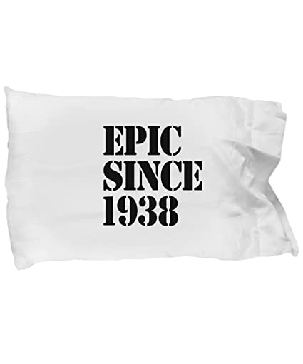 Image Unavailable Not Available For Color 1938 Gift 80th Birthday Pillow Case