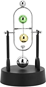 Fishlor Desktop Toys Ball Pendulum, Magnetic Desk Toys Science Gadgets Desk Toys, Home for Desk Study for Office(A003)