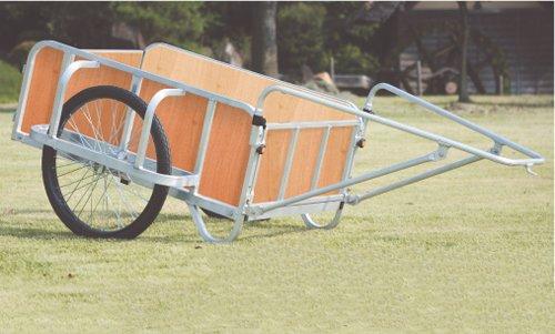 ハラックス アルミ製 大型リヤカー(強力型) 輪太郎 [全面合板パネル付] BS-2000G B004TDH16U