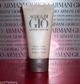 5019c892ba7d Image Unavailable. Image not available for. Color  Giorgio Armani ACQUA DI  GIO After Shave Balm Men 2.5oz 75mL New ...