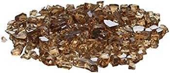 AZ Patio Heaters 20-Pounds Reflective Fire Pit Fire Glass