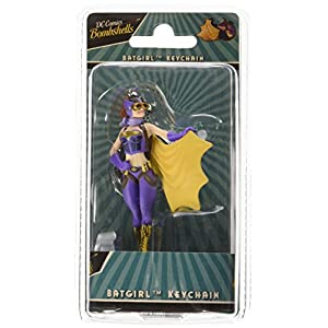 51tTdozUDrL. SS300 DC Comics KC DCBS BG01 Justice League DC Bombshells Batgirl High Detail Collectible Keychain