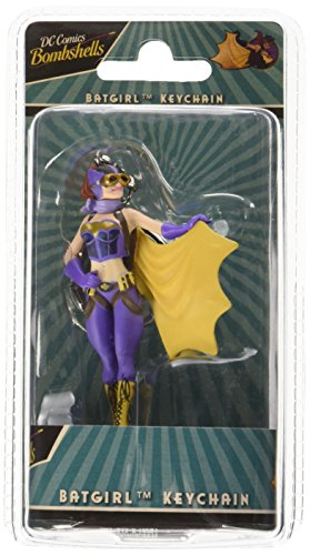 Batgirl Games - DC Comics KC DCBS BG01 Justice League DC Bombshells Batgirl High Detail Collectible Keychain