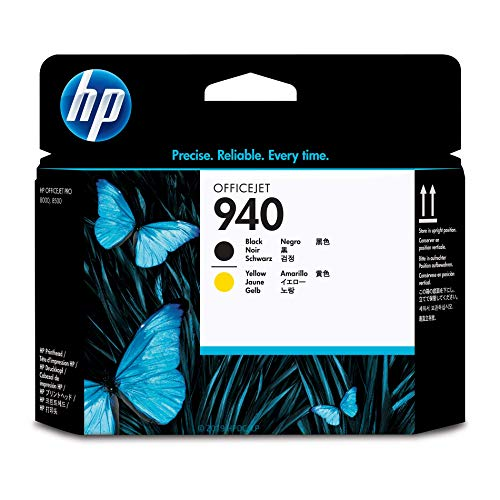 HP 940 Black & Yellow Printhead (C4900A) Black Printhead Cleaning Cartridge