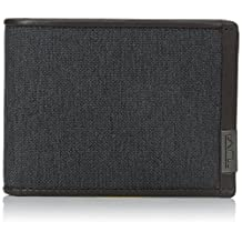 Tumi Men's Alpha Double Billfold, Anthracite, One Size