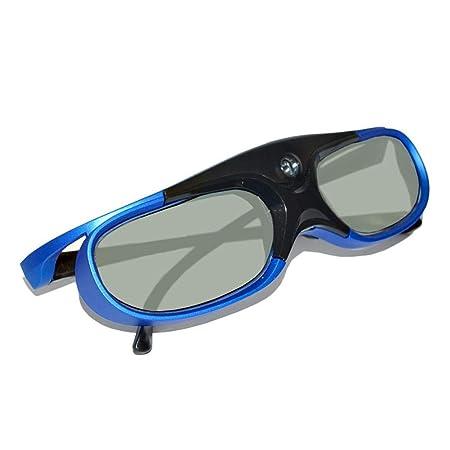 Basisago - Gafas 3D de Dip Link Shutter activas, Recargables, DLP ...