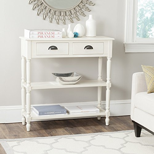 Painted Cottage Furniture (Safavieh American Home Collection Salem White Console Table)