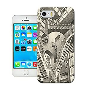 LarryToliver Customizable Black and white artwork Series Case and Cover for iphone 5/5s - Retail Packaging