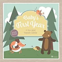 Baby's First Year Undated Keepsake Calendar Stickers