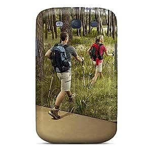 LatonyaSBlack FOjcUzF7894ZSXFe Protective Case For Galaxy S3(quick Hike In Nature)