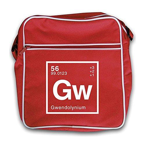 Retro Periodic Gwendolyn Red Element Flight Bag Dressdown WFfHF