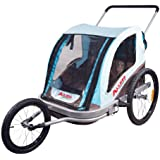 Allen Sports Premier Aluminum 2-Child Jogger/Bike Trailer