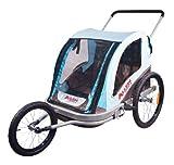 Allen Sports Premier Aluminum 2-Child Jogger/Bike Trailer