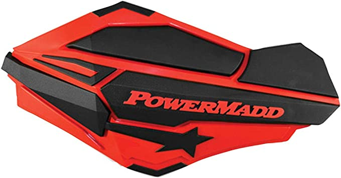 Powermadd Sentinel Handguards Guards Tri Mount Orange Black Utility ATV Honda