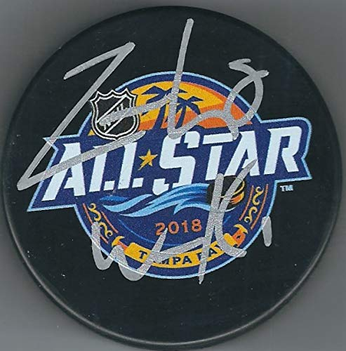 Autographed Zach Werenski Columbus Blue Jackets 2018 All Star Game Hockey Puck