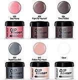 Dipping Powder Nail Starter Kit Nude Gray 6