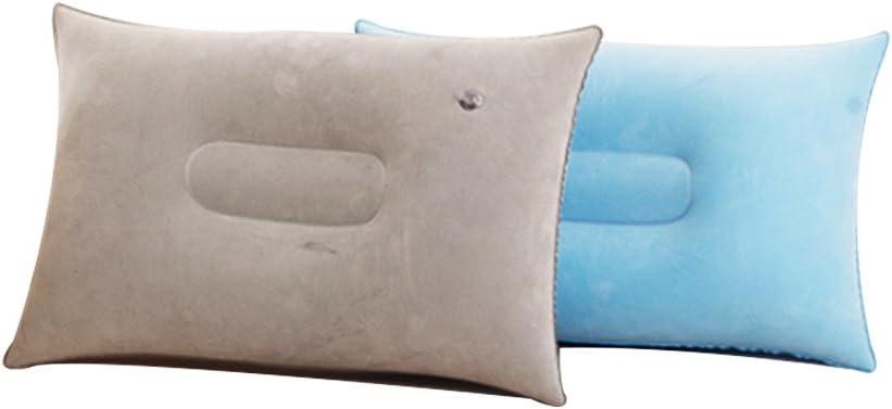 Nider - Almohadas de Acampada ultraligeras para Viajes, compresibles, compactas y cómodas para Cuello y Soporte Lumbar