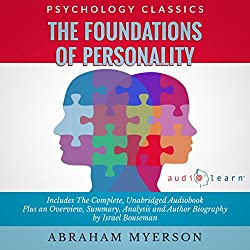 The Foundations of Personality by Abraham Myerson