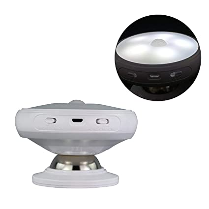 Keyi le Luz del Sensor de Movimiento, Luz Nocturna giratoria de 360 Grados
