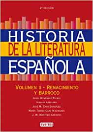 Historia de la Literatura Española. Volumen II