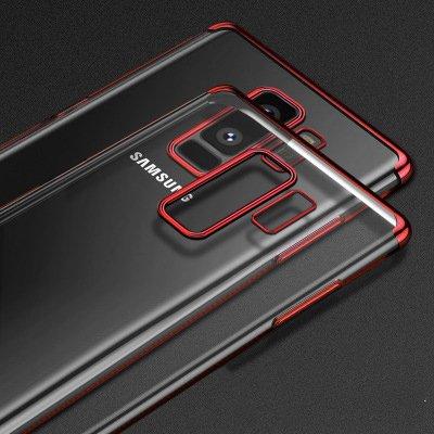 Estuche Samsung Galaxy S9, Protección Para Estuche Ultra Fino y Tpu, Protección De Estuche y Alta Definición red Negro