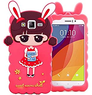 28d600a1f GODRIC Doll Cute Hello Kitty Soft Silicone with Metal Girl's Back Case Cover  for Samsung Galaxy