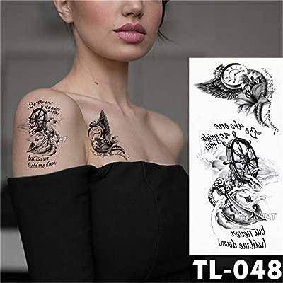 3 Unids-Tatuajes de Flores patrón de Verano Pegatinas de Tatuaje ...
