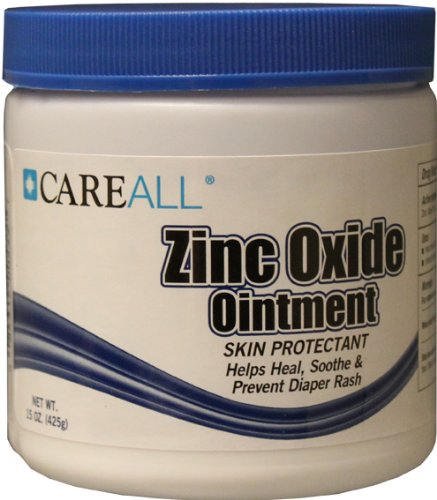 15 oz CareAll Zinc Oxide Jar 12 pcs sku# 1470413MA by CareAll