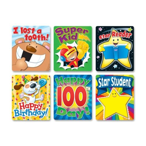 Braggin Badges Colorful Sticker