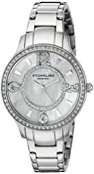 Stuhrling Original Women's 559.01 Symphony Analog Display Quartz Silver Watch