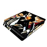 Decorative Video Game Skin Decal Cover Sticker for Sony PlayStation 4 Slim Console PS4 - Bleach Ichigo