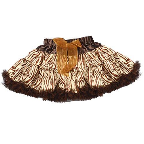 LCLHB Tulle Dance Tutu Skirt, 3-Layer Fluffy Ballerina For Baby Toddler Girls (5 Size Available For 4 Mon - 10yrs Girls)