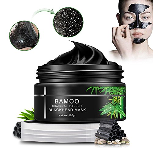 (Blackhead Mask,Sky-shop Facial Mask Nose Mask Face Mask Blackhead Cream with Activated Charcoal Deep Pore Cleanse, Peel Off Deep Skin Clean Purifying Face Mask for Acne and Blackheads (100g))