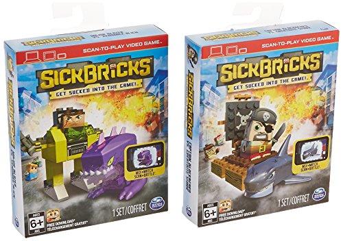 Sick Bricks, Big Sick Character Pack Heroes vs Monsters
