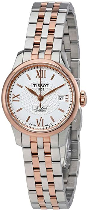 Tissot Le Locle Silver Dial Stainless Steel Ladies Watch T41218333