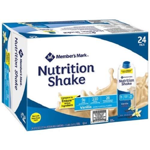 Member's Mark Nutritional Shake, Vanilla (8 fl. oz., 24 ()