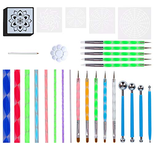 Top 10 best mandela dot painting tools: Which is the best one in 2019?