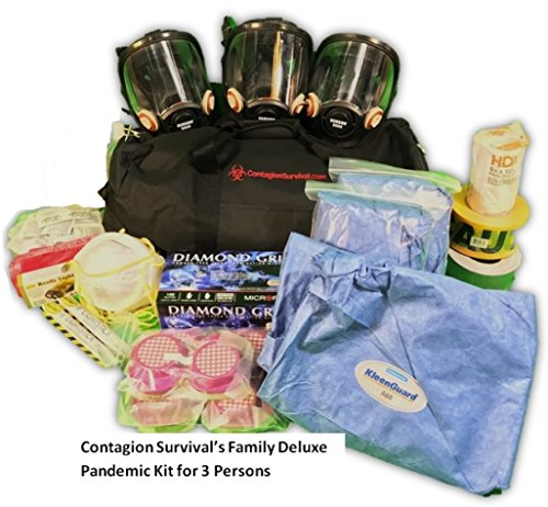 - Deluxe Pandemic Kit for 3-Person Family