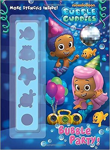 Bubble Guppies Color Plus Stencil 9780307982056 Golden Books John Huxtable