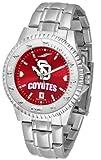 South Dakota Coyotes NCAA Mens Steel Anochrome Watch