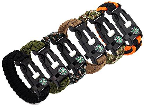 Bestsupplier Paracord Bracelet Kit Outdoor Survival Bracelet Camping