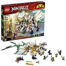 LEGO Ninjago Legacy The Ultra Dragon 70679 Building Kit , New 2019 (951 Piece)