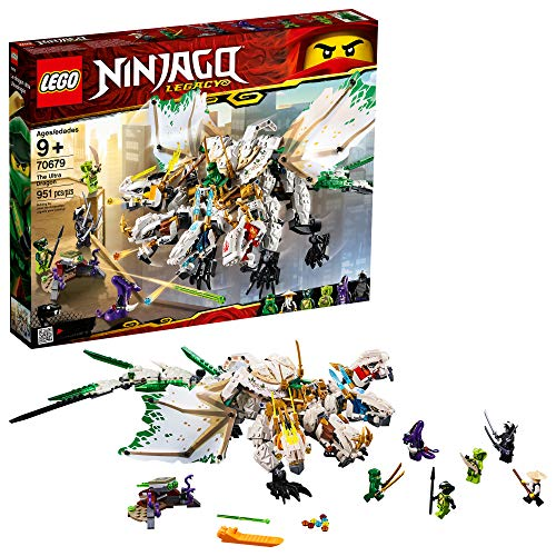 LEGO Ninjago Legacy The Ultra Dragon 70679 Building Kit , New 2019 (951 Piece) ()