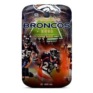 Great Hard Phone Case For Samsung Galaxy S3 (BKJ16740LTve) Customized Vivid Denver Broncos Skin