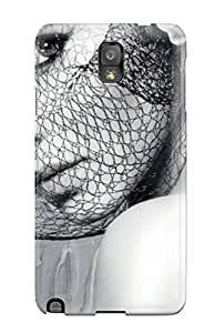 Durable Women Music Back Case/cover For Galaxy Note 3