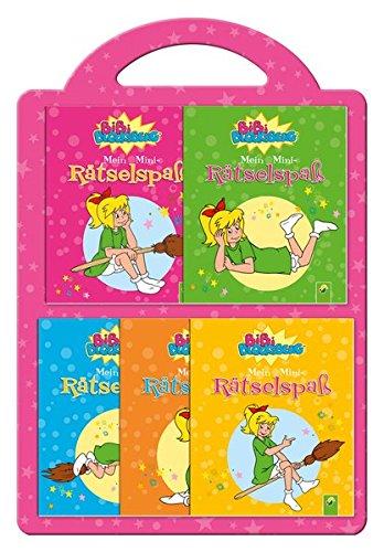 Bibi Blocksberg- 5 Minibücher im Set: Mein Mini-Rätselspaß