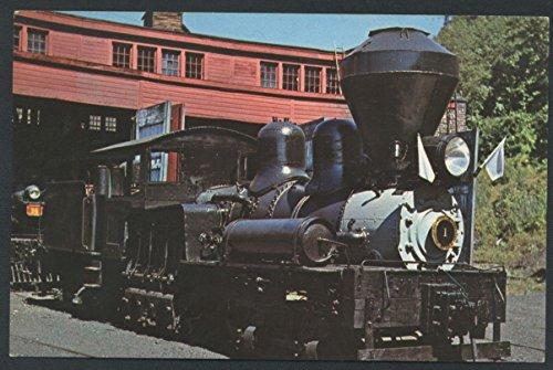 Steamtown Locomotive Engine 1 Shay Logging Steam Railroad Train Vermont (Logging Boat)