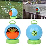 YDZN Automatic Bubble Machine Blower Maker Kids Children Portable Indoor Outdoor Parties Toys Birthday Christmas Gift