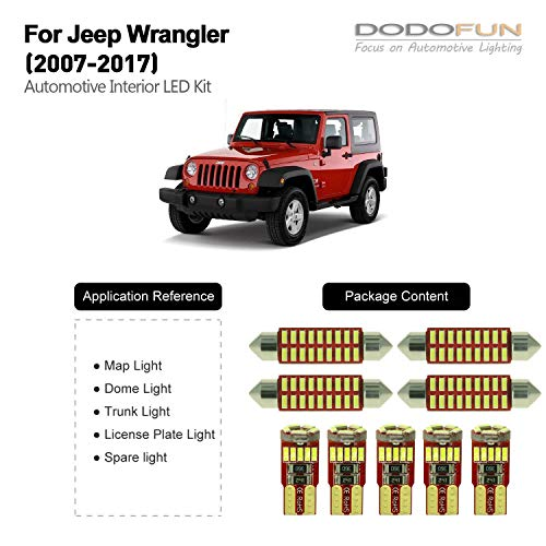 Jk Wrangler Led Interior Lights in US - 8
