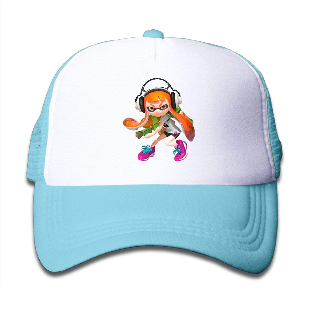 Splatoon Game Youth Boys Mesh Hat Fashion Child Cap One Size